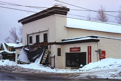 Marquee down 2001