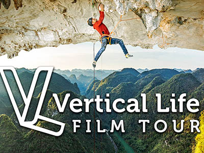 Vertical Life Film Tour at The Colonial Theatre Bethlehem, in the heart of the White Mountains of NH