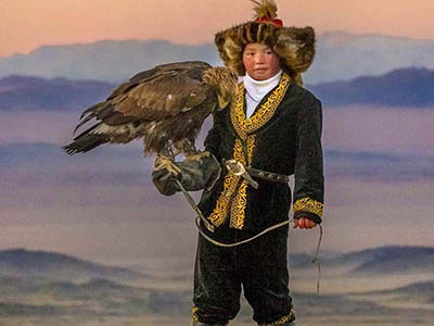 The Eagle Huntress with Live Squam Lake Raptors, The Colonial Theatre White Mountains, NH